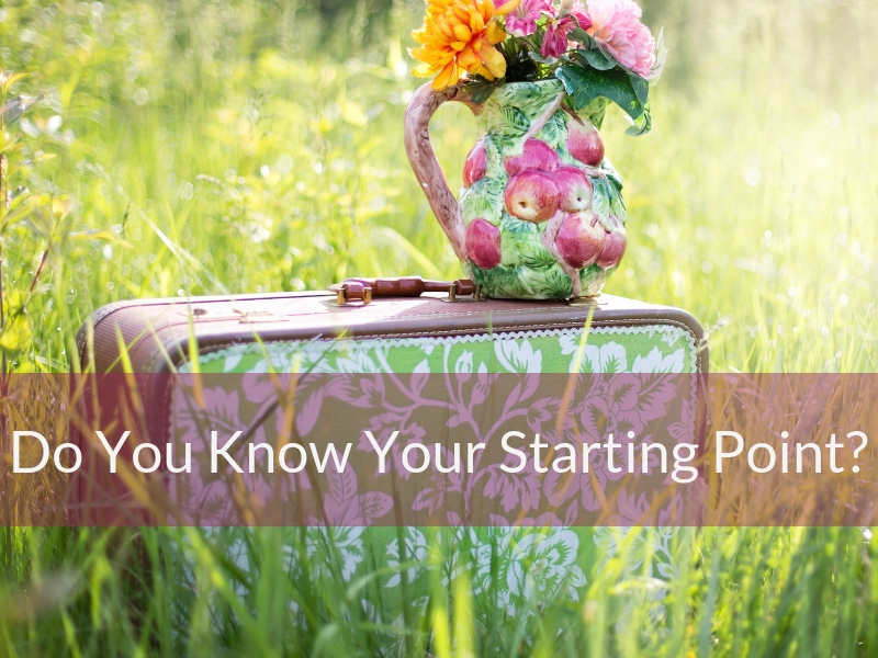 Do You Know Your Starting Point?